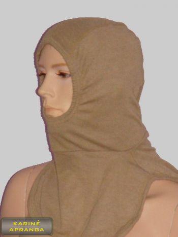 Britų kariuomenės smėlio spalvos galvos apdangalas - AFV Balaclava