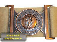 Diržas The Mercian Regiment orginalus. The Mercian Regiment belt genuine.