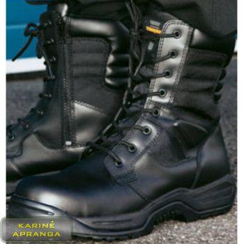 Aukšti darbo batai Trojan. Trojan High Leg S3 Utilities Non Metal Composite Black Safety Boot