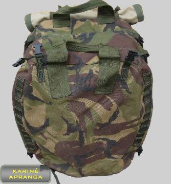Originali Britų kariuomenės išminuotojų 50 L kuprinė su rėmu (Genuine British Army Engineers Backpack 50L)