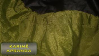 Kuprinės maskuotė-užvalkalas, žalias.