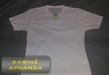 Moteriški balti termo-marškinėliai CoolDry.