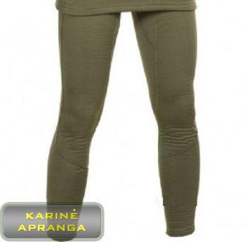 Apatinės šiltos kelnės. Drawers, thermal underwear, light olive PCS