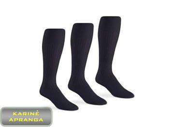 Demisezoninės juodos kariuomenės kojinės. Socks mens thin wool/nylon black