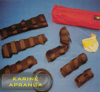 """Rescue and Medical"" įtvarų rinkinys, naujas (Rescue and Medical replacent parts/ Splints, new)"