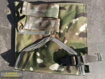 Pistoleto ir dėtuvių dėklas MTP su Velkro tvirtinimu.