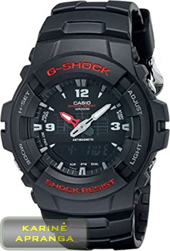 Laikrodis G-Shock casio G-100-1BV. Casio G-100 G-Shock Men Watch.