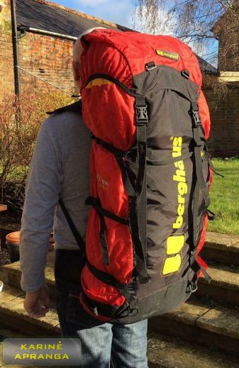 Kuprinė Berghaus 80L. Backpack Berghaus Extrem Expedition.