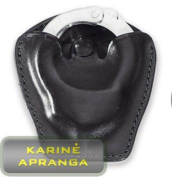 Odinis antrankių dėklas (naujas). (Leather handcuffs holster)