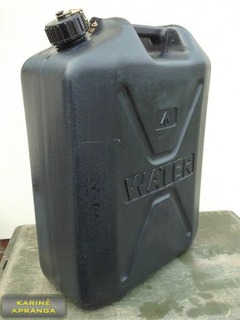 Geriamojo vandens talpa. Army 20 L water tank.