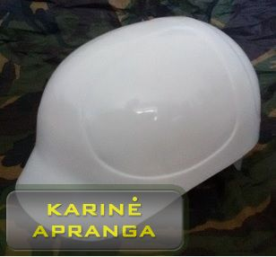 Baltos spalvos šalmas (White helmet).