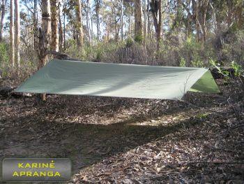 Palapinsiaustė vienspalvė Chaki (Basha Shelter Olive green)