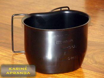 Gertuvės puodelis 0,75 l (BCB Crusader Cup Canteen Black PTFE (CN540B)