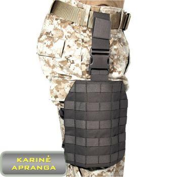 BLACKHAWK STRIKE platforma modulinė  ant kojos. BLACKHAWK STRIKE tactical drop leg platform.
