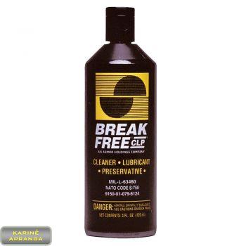 Ginklų tepalas BREAK FREE CLP 120 mm. Break Free CLP CLEANER, LUBRICANT, PROTECTANT.