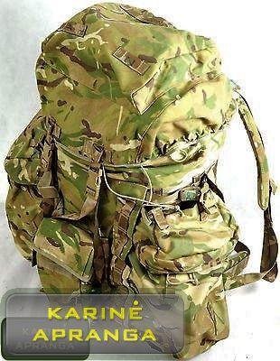 Kuprinė MTP, Multicam Ilga 120 L originali Britų kariuomenės. British army MTP rucksack LONG back.