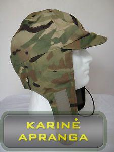 Profesionali MTP karinė kepurė šaltam orui su Gore-Tex.