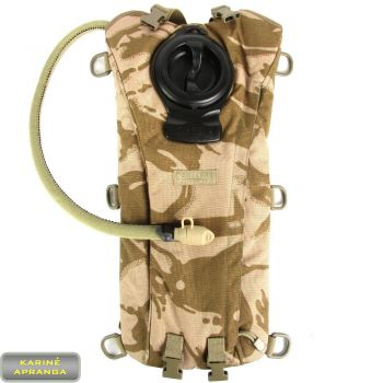 Kuprinė-gertuvė Camelbak su plačia užpildymo anga. Camelbak hydration pack desert DPM camo.