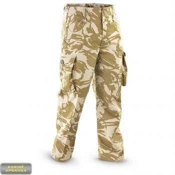 """Smėlio  spalvos maskuojamosios britų kariuomenės kelnės """"Windproof"""""""