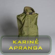 Kariuomenės krepšys/maišas nelaidus vandeniui (žalias arba rudas). (Army dry bags)