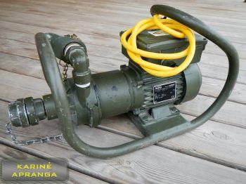 Karinis vandens siurblys AEG. Army water pump AEG.