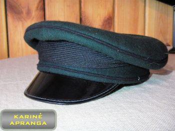 Paradinė kepurė be ženklo 57, 58 cm (žalia, su juoda juosta).