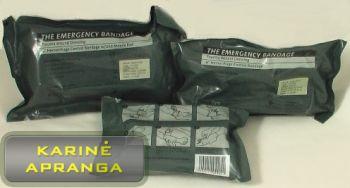 Pirmosios medicininės pagalbos paketas/bintas (Emergency Bandage)