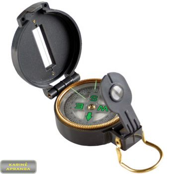 Kompasas (Engineer directional compas).
