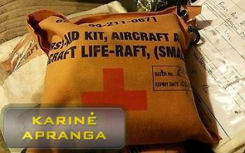 RAF sraigtasparnio Apache, pirmos pagalbos rinkinys