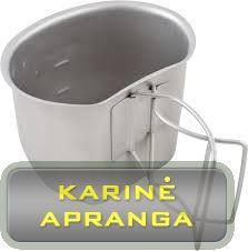Gertuvės puodelis 0,75 l (BCB Crusader Cup Canteen CN540)