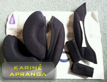 Šalmo paminkštinimai  MK7/MK6a Helmet Comfort Pad Kit
