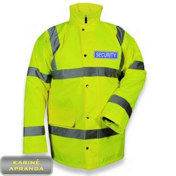 Padidinto matomumo striukė mod security su Gore-Tex. High visibility anorak to