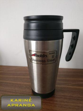 """Aladdin"" kelioninis puodelis (Aladdin thermos travel mug, used, Grade 1)"