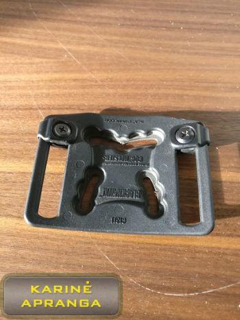 """""""BLACKHAWK STRIKE"""" pistoleto tvirtinimo platforma, CQC tipas, juoda, mažai naudota (BLACKHAWK STRIKE platform, CQC, black, used, Grade 1)"""