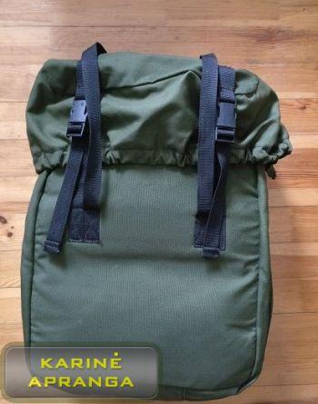 Medicininės pagalbos kuprinė, žalia, mažai dėvėta (British army paramedic medical and rescue bag, grean, used, Grade 1)