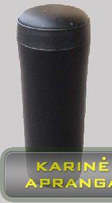 Kariškas, nerūdijančio plieno termosas-puodelis BCB 0,5 L