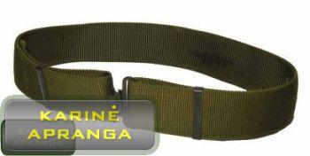 Diržas kareiviškas kasdienis (Army green daily belt).