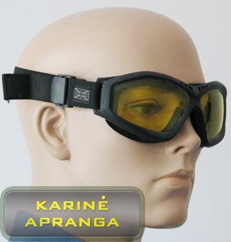 Taktiniai, koviniai britų kariuomenės akiniai REVISION Bullet Ant