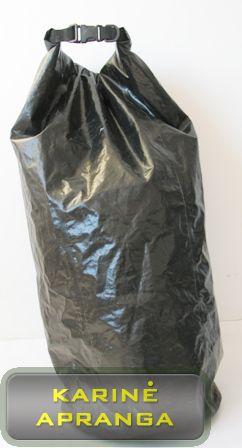 Neperšlampamas didelis krepšys/maišas (juodas).