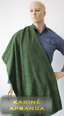 Rankšluostis didelis žalios spalvos  (140x100 cm.). (Combat Towel Olive/ Anti microbial and anti-odour properties)