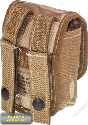 Amunicijos krepšelis dykumų spalvos 5x8x12cm. Pouch Bag DPM Desert.