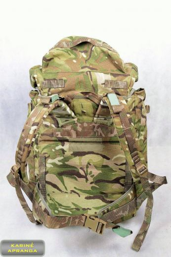 Kuprinė MTP, Multicam marginimo, trumpa, 100 L, originali, britų kariuomenės. British army MTP rucksack SHORT back.
