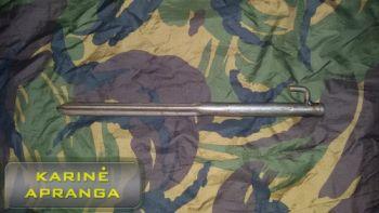 Palapinės kuoliukai, metaliniai (tent stakes)
