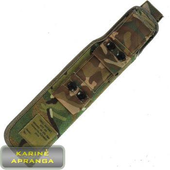 Britų kariuomenės peilio dėklas, MTP marginimo, mažai dėvėtas (British Army PLCE MTP Bayonet Frog, used, Grade 1)