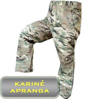 Mūšio MVP MTP neperšlampamos kelnės Gore-Tex. (Combat Waterproof Gore-Tex MVP MTP Trousers).