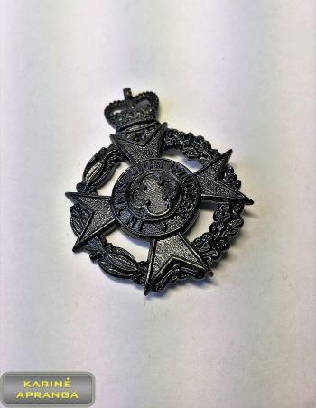 Karališkosios kariuomenės kapeliono  (krikščionių) beretės  ženklas Nr.12