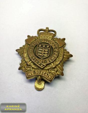 Karališkųju Logistikos pajėgų apykaklės ženklas. Nr.23