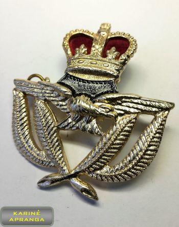Karališkųjų Oro pajėgų karininko  beretės ženklas. Nr.27