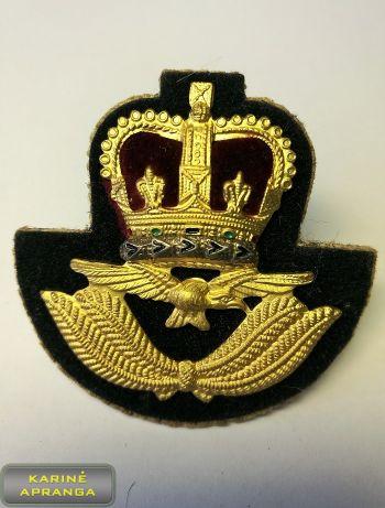 RAF karininko beretės ženklas  Nr.5