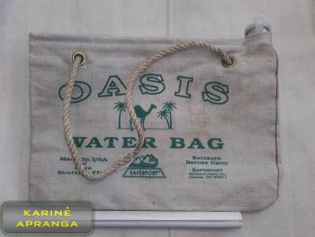 Vandens krepšys (labai retas). Land Rover Oasis water bag (extremely rare).